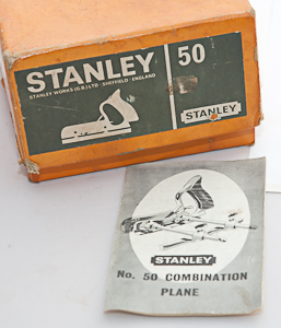 Dating a stanley no 50 cutters